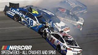 Nascar - 2017 - Daytona Speedweeks - All Crashes And Spins thumbnail