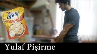 Yulaf Pişirme Sporcu Kahvaltısı Protein Patlaması