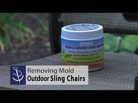 Removing Mold from Outdoor Sling Chairs
