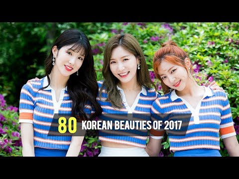 TOP 80 KOREAN BEAUTIES OF 2017 - LST Playtime Korea Hitlist