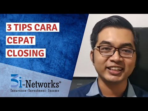 3 Tips Cara Cepat Closing 3i-Networks