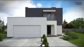 Двухэтажный дом с гаражом на две машины Zx134 от Z500