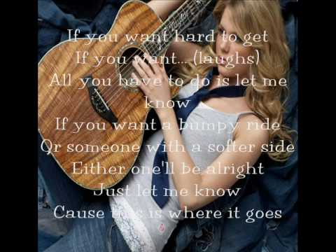 Your Anything by Taylor Swift (lyrics)