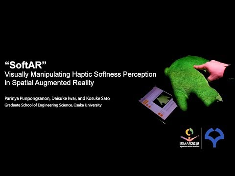 SoftAR: Visually Manipulating Haptic Softness Perception in Spatial Augmented Reality