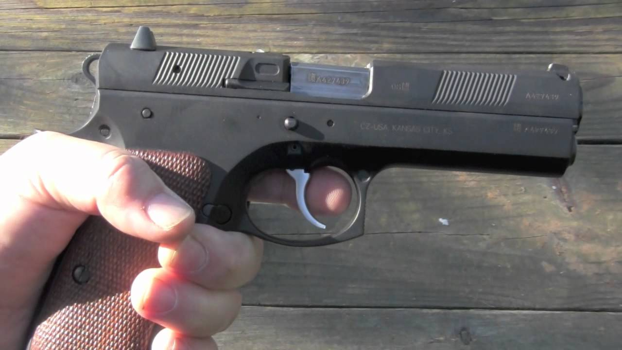 Shooting the CZ97B mov