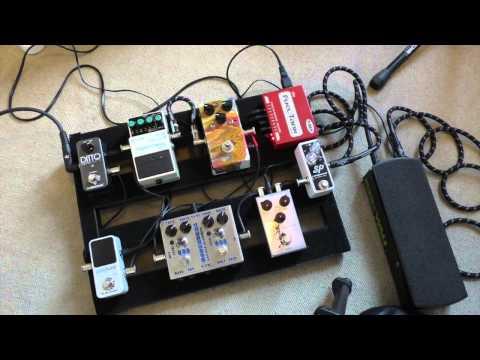 Rig Rundown - my current pedal board inc demo