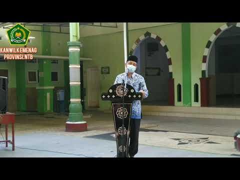 Gebyar Inovasi dan literasi Madrasah Aliyah Negeri 1 Mataram Oleh Kakanwil Kemenag Provinsi NTB
