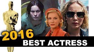 Oscars 2016 Best Actress - Brie Larson, Jennifer Lawrence, Cate Blanchett - Beyond The Trailer