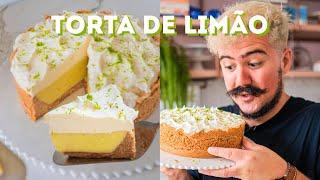 TORTA DE LIMÃO TRUFADA DE LIMÃO PROFISSIONAL E SUPER FÁCIL | BIGODE NA COZINHA