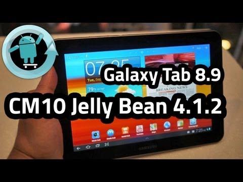 Samsung Galaxy Tab 8.9 CM10 4.1.2