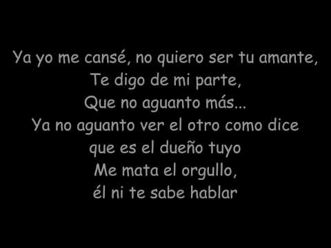 Nicky Jam - El Amante (Lyrics)
