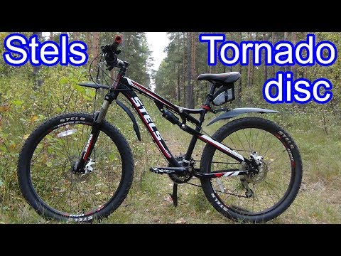 Stels Tornado Disc Велосипед двухподвес