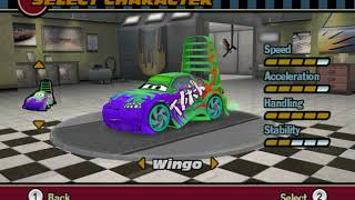 Cars The Video Game (Wii): All Characters and Paintjobs Review