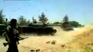 t 72 tank explodes during firing shells on gaddafi s army cooling system failure