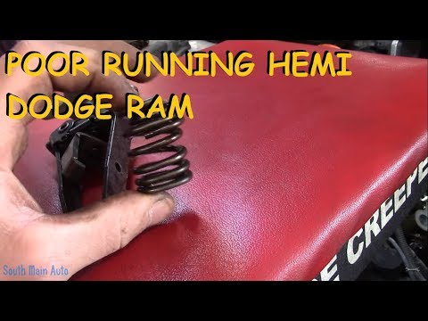 5.7 Hemi Ram – Bad Misfire & Will Not Idle