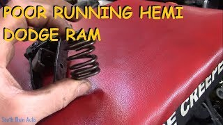 5.7 Hemi Ram - Bad Misfire & Will Not Idle