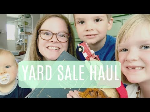 Yard Sale Haul Labor Day Weekend