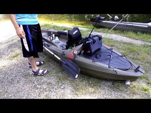 Sun Dolphin Journey 10ss Kayak Review