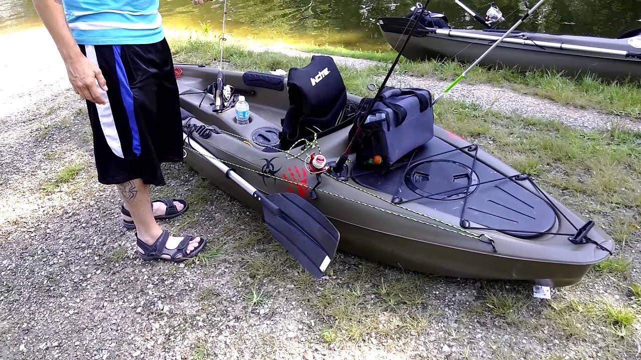 90 diy fishing kayak mods ascend fs128t kayak for Sun dolphin fishing kayak accessories