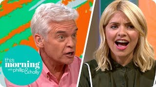 Holly and Phillip Have a 'Strop' Over Guess the Gadget | This Morning