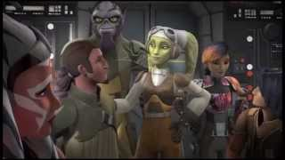 Star Wars Rebels season 2 fan trailer the master and the apprentice