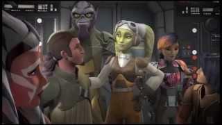 Star Wars Rebels season 2 fan trailer the master and the apprentice