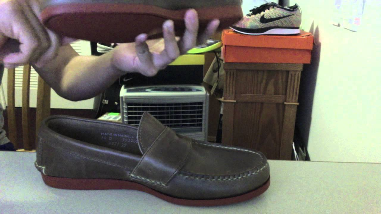 ef8e6dd8f1f Rancourt Pinch Penny Loafers Performance Review - YouTube