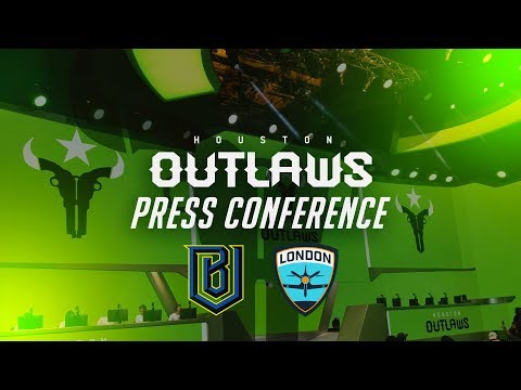 Houston Outlaws Press Conference Week 5 (Boston Uprising & London Spitfire)