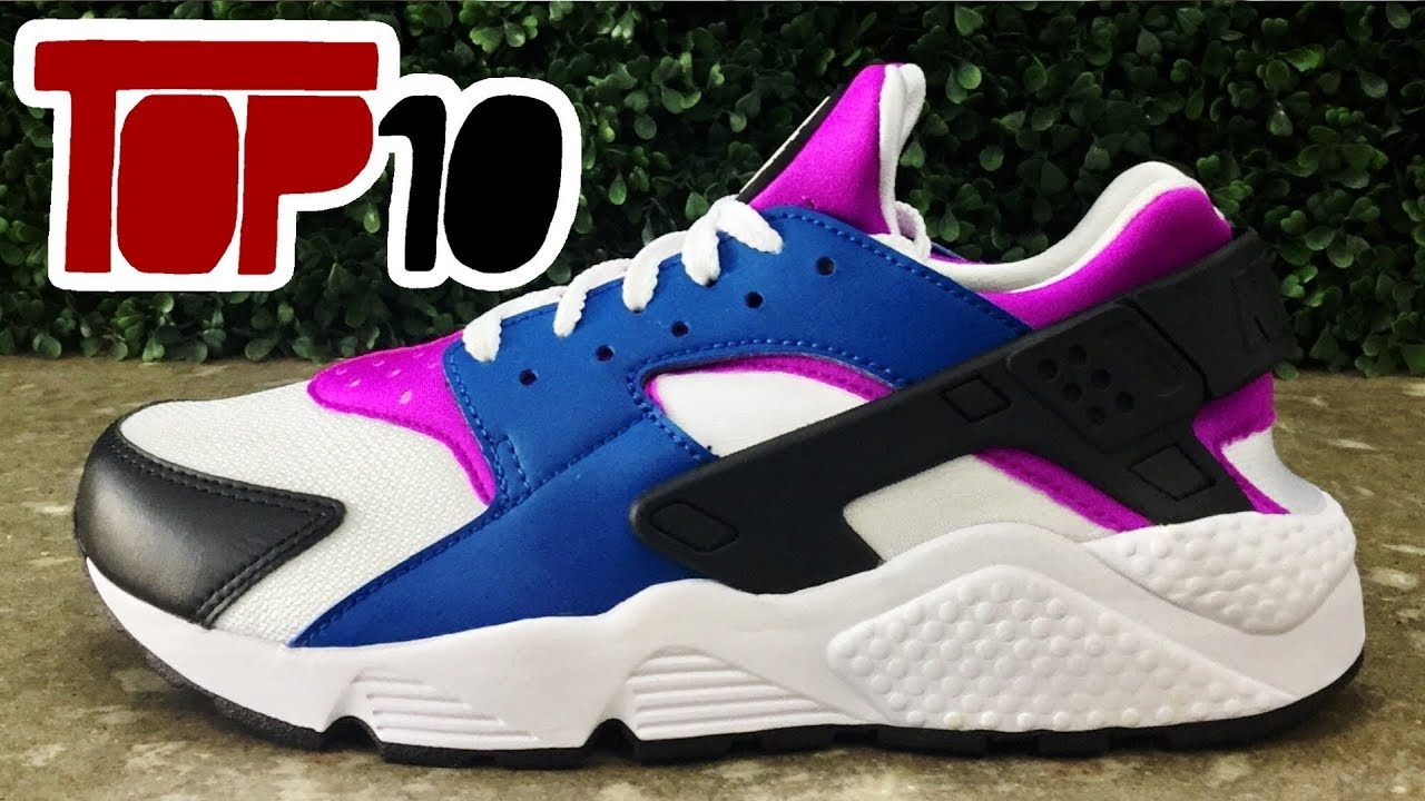 new product 197cb 717ab Top 10 Nike Huarache Shoes Of 2017