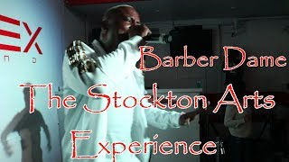 This Barber Has Skills With The Clippers And On The Mic!!