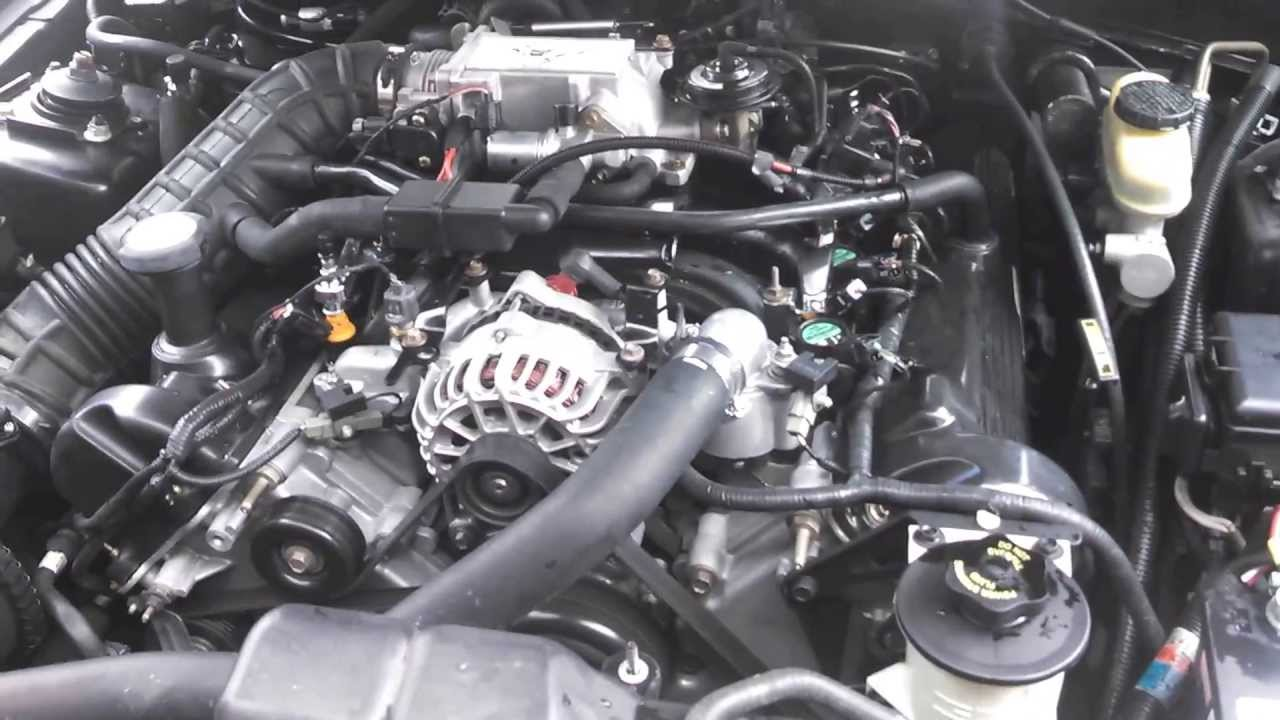 2000 ford mustang gt windsor engine 5spd t 45 tremec trans for sale youtube. Black Bedroom Furniture Sets. Home Design Ideas