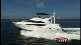 Meridian Yachts 408 Motoryacht Performance Test - By BoatTest.com
