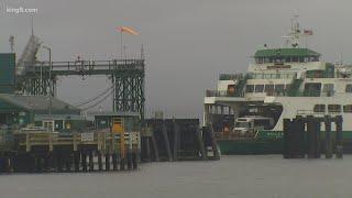 Lightning Strikes Washington State Ferry Near Edmonds