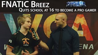 "Fnatic Breez Interview: ""I quit school to become a Pro-Gamer in Heroes of the Storm"""