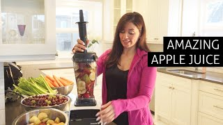Amazing Apple Juice Recipe Using A Blender!