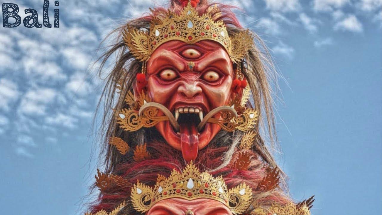 Bali's Monster Festival Experience ???? (Ogoh Ogoh Parade before Nyepi Silent Day)