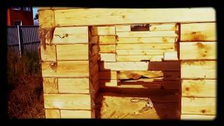 Баня из бруса 4 на 4 с террасой / Баня 4 на 6 для дачи.(Видео съёмка строительства бани из бруса 150 на 150 мм с открытой террасой. http://masterdachi.ru Обзор возведения бруск..., 2015-07-28T12:15:31.000Z)