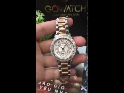 MICHAEL KORS Madelyn Mother of Pearl Dial Two Tone Stainless Steel MK6288