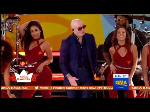 Fireball - Pitbull - GMA 15/6/18