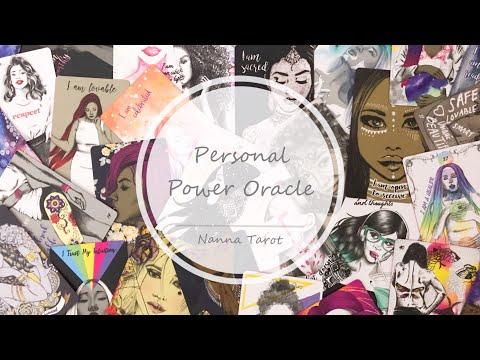 開箱  個人力量神諭卡 • Personal Power Oracle  // Nanna Tarot