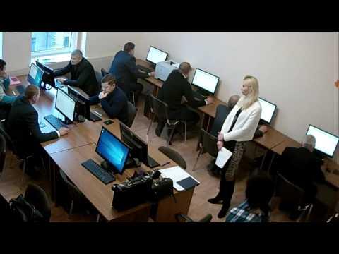 Тестування кандидатів на посади державних службовців канегорії А 25.11.2016