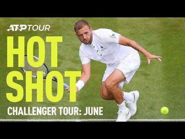 Best Challenger Tour Shots In June | HOT SHOT | ATP