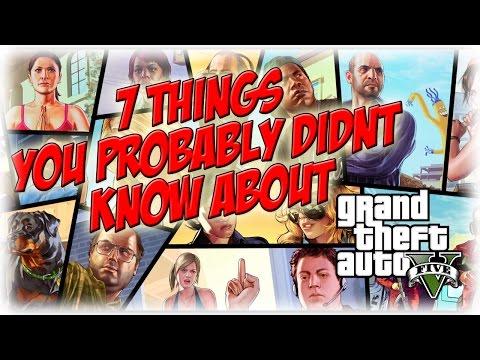 7 Things You Didnt Know About GTA 5 GTAV TRIVIA NemRaps