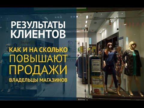 Акции для магазинов одежды. Результаты владельцев магазинов.