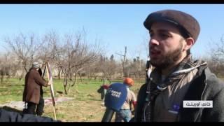 إطلاق أول فرق كشافة تضم 40 متطوعاً من الأطفال في الغوطة الشرقية