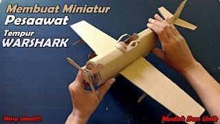 Cara Membuat Pesawat Tempur WARHAWK Dari Kardus | Ide Kreatif