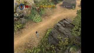 Lego Indiana Jones 2 glitch - Out to Sea (out of bounds)