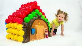 Learn Colors Заколдованный Домик Маша и Медведь Учим Цвета Развивающие мультики для детей Simba toys