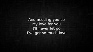 Lionel Richie - You Are (Lyrics)