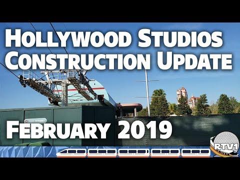 Disney's Hollywood Studios - Construction Update - February 2019 | Walt Disney World
